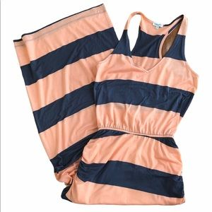 Splendid Luna Lake Striped Racerback Maxi Dress